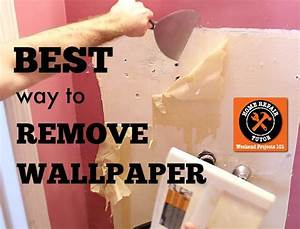 The best way to remove wallpaper without chemicals is steam