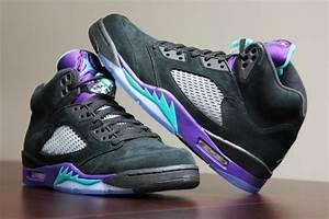 Air Jordan 5 Black Grapes | Shoes | Pinterest | Black ...