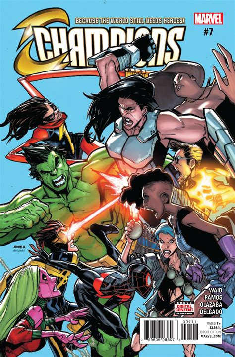 champions marvel comic previews releases week vol catalog april comix prevue exclusive latest cyber today database wiki