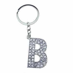 metal alphabet keyring With letter keyrings