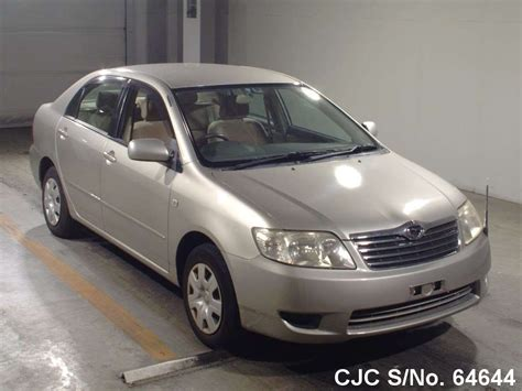 automotive air conditioning repair 2005 toyota corolla electronic valve timing 2005 toyota corolla beige for sale stock no 64644 japanese used cars exporter