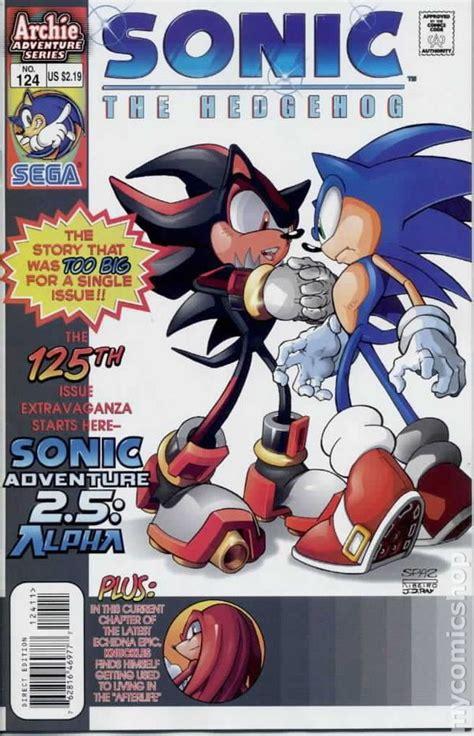 sonic  hedgehog  ongoing series comic books