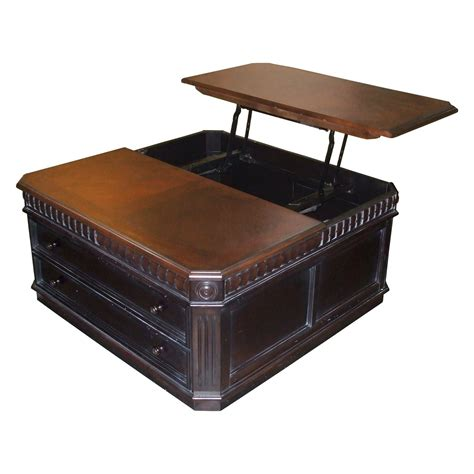table and storage square leather coffee table with storage with unique pop