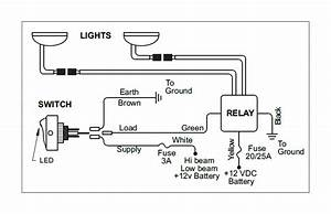 Kc Headlights Wiring Diagram