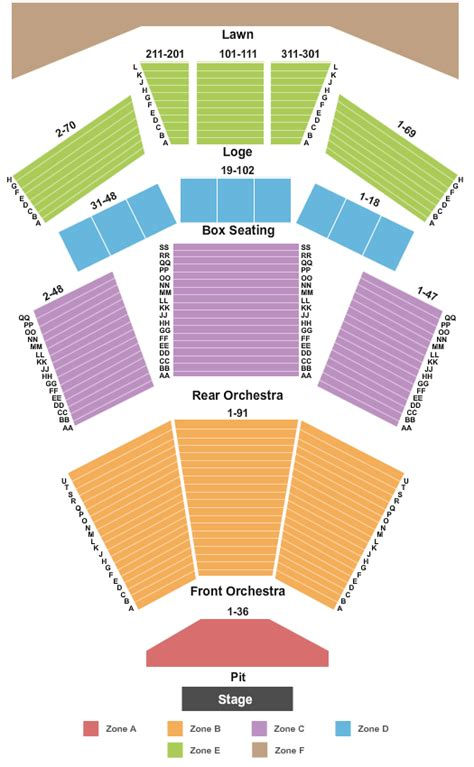 filene center seating chart wolf trap wolf trap tickets and nearby hotels 1645 trap rd 49105