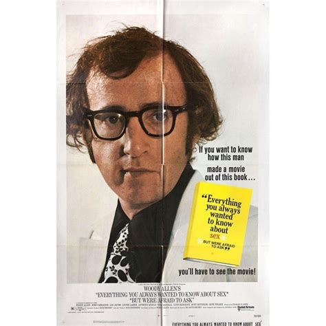 Everything You Always Wanted To Know About Sex 1972 Us One Sheet Film Poster For Sale At 1stdibs
