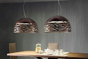 Luminaire Suspension Design Italien : suspension kelly suspension large bronze studio italia ~ Carolinahurricanesstore.com Idées de Décoration