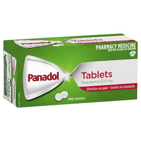 PANADOL Pain Relief Tablets, 100's | Medical Clinic Center