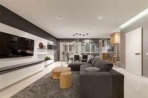 Wohnung Modern Einrichten : deko ideen wohnung einrichten in grau modernes apartment als inspiration ~ Eleganceandgraceweddings.com Haus und Dekorationen