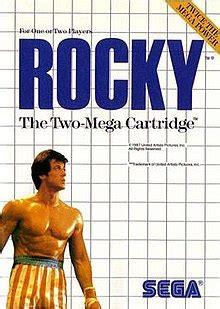 rocky  video game wikipedia