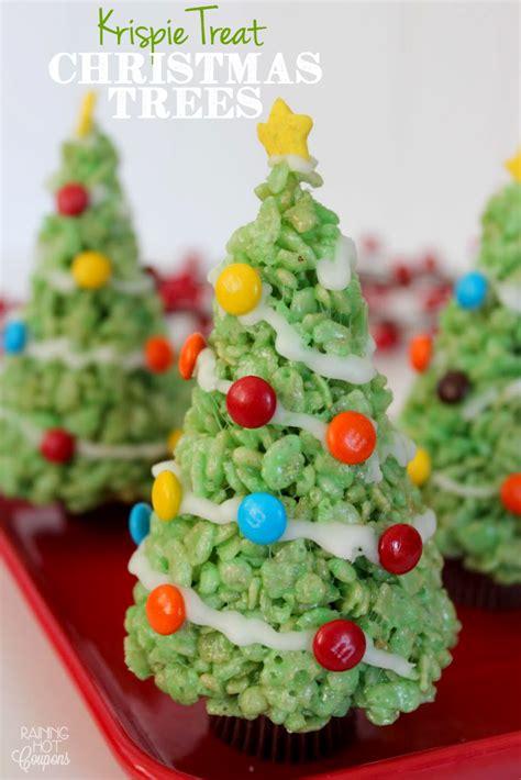 Rice Krispie Christmas Trees by Wonderful Diy Christmas Rice Krispies Treats