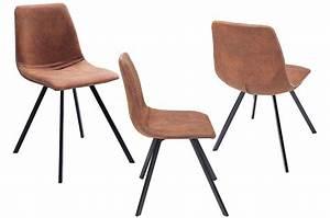 Lot De Chaises Design Pas Cher : chaises design pas cher pieds m tal noir pour salle manger ~ Melissatoandfro.com Idées de Décoration