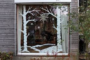 Fenster Bemalen Weihnachten : ein schweizer garten diy last minute adventsfenster ~ Watch28wear.com Haus und Dekorationen