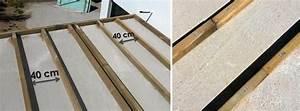 Realiser Un Plancher Bois : r aliser un lambourdage bois sur dalle b ton ~ Premium-room.com Idées de Décoration