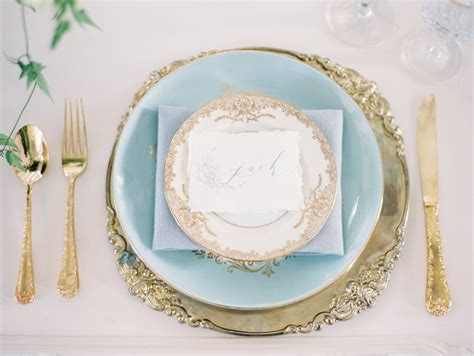 wedding plate settings glass gold beaded charger plate