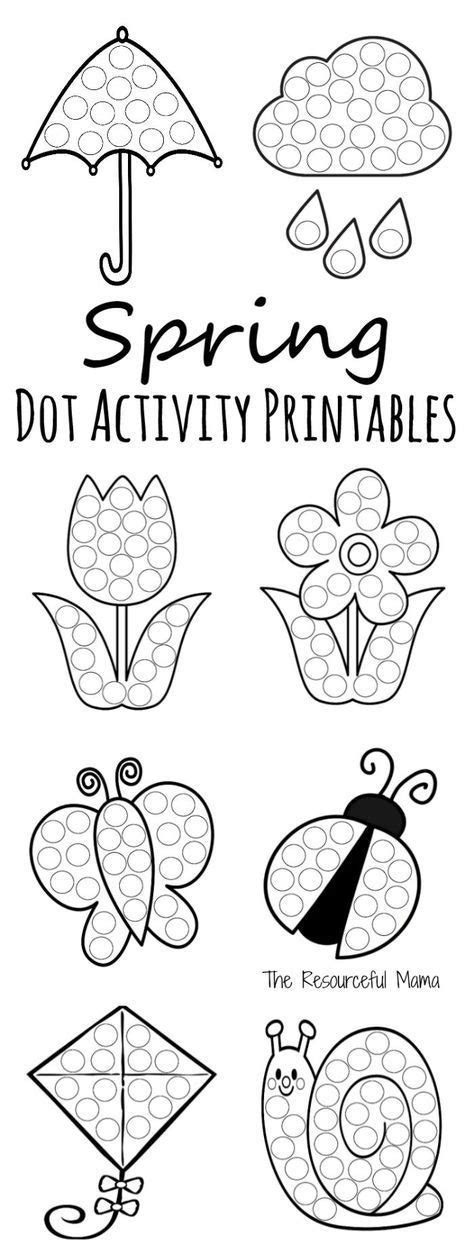 may preschool activities do a dot prinables everything for 326