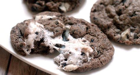 Marshmallow Oreo Chip Cookies   The Gracious Wife