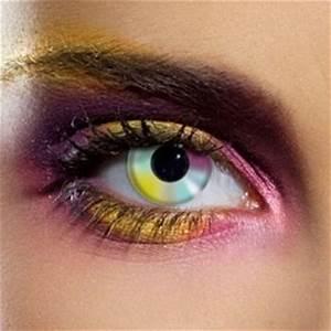 Rainbow Contact Lenses Prescription and Nonprescription