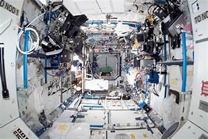 Inside The International Space Station's U_S_ Destiny Lab ...