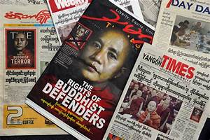 Govt, Local Media Condemn Time Magazine's Cover of U Wirathu