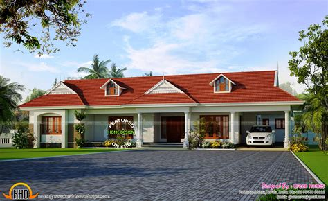 Kerala Style Single Floor House Plans With Cost - Floor