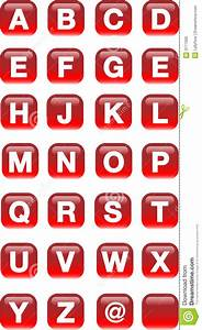 alphabet buttons stock photo image of glossy label With alphabet letter buttons