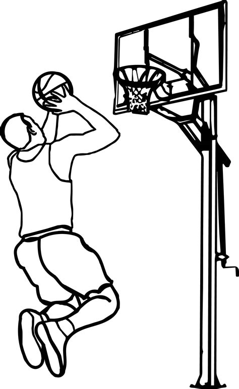 people playing basketball clipart clipground