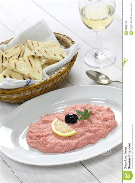 canap tarama taramasalata royalty free stock photos image 33946798