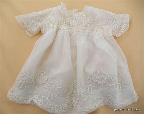 articles vendus gt linge ancien de b 233 b 233 gt linge ancien charmante robe rebrod 233 e sur tulle doubl 233 e