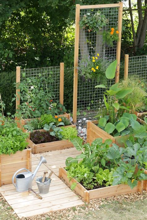 Garden Trellis by 10 Ways To Style Your Own Vegetable Garden