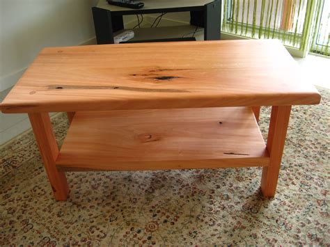 wood coffee table design plans video