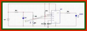 Air Flow Detector Project Circuit Diagram  Working And