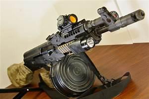 Assault rifle Draco AK-47 Army weapon gun military russian ...