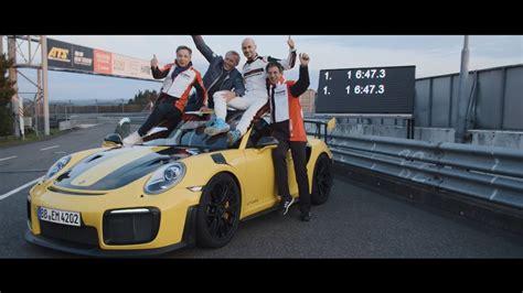 6 Minutes, 473 Seconds Porsche Sets A World Record On