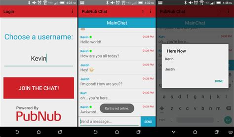 How To Build An Android Group Chat Application Pubnub