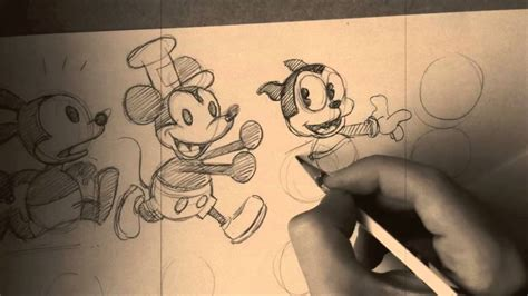 How To Draw Epic Oswald The Lucky Rabbit Mickey Mouse