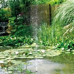 Pompe Bassin Solaire Jardiland : pompe solaire bassin 500 sujet fontaine pompe bassin ~ Dallasstarsshop.com Idées de Décoration