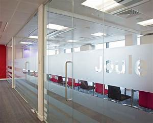 Glass partition, Office partitioning, Glass manifestation