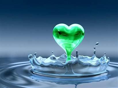 Heart Hope Dimensional Hearts Desktop Animals Water