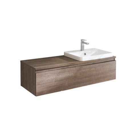 vasque a coller sous plan mod le evasion meuble sous vasque avec plan pour vasque semi encastr e lapeyre 550 50 sb