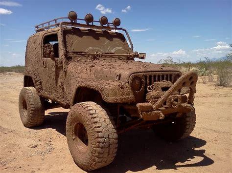 muddy jeep wrangler muddin vroom pinterest
