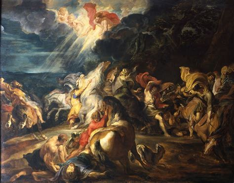 Lunchtime Talk Peter Paul Rubens Conversion Of Saint Paul The Courtauld Institute
