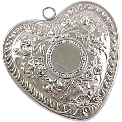 gorham sterling silver christmas ornament medallion 1988
