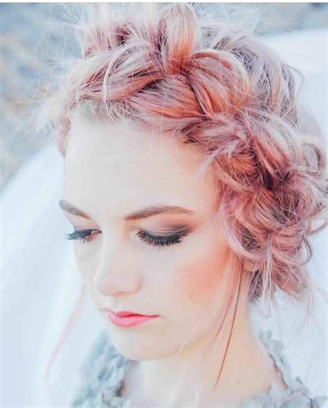 belle coiffure mariee  coiffure simple  facile