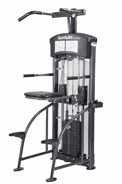 Dip Chin Assisted Sportsart Equipment Exercise Gym