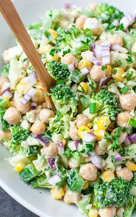 chopped recipe chopped cauliflower broccoli salad with creamy avocado