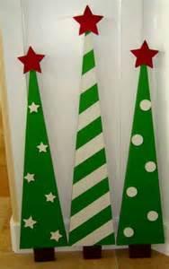 DIY Wooden Christmas Tree Decorations