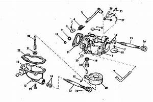 Carburetor Parts For 1972 4hp 4r72s Outboard Motor