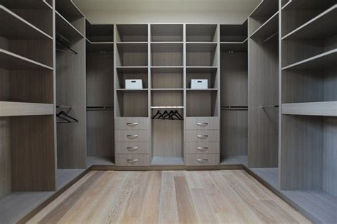 Gray Wardrobe Closet feeling of light and space in a modern house in 2019