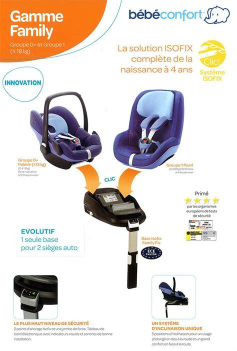 comment installer un siege auto dans une voiture bébé confort familyfix sièges auto amazon fr bébés
